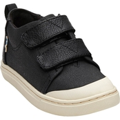 TOMS Boys Textural Canvas Tiny Lenny Mid Sneakers