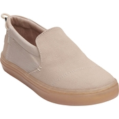 TOMS Girls Textured Canvas Youth Paxton Slipon