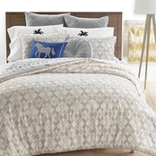 Martha Stewart Collection Whim Clip Jacquard Comforter Set