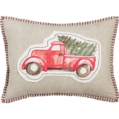 Martha Stewart Collection Tree Truck Decorative Pillow 14 x 20 in.