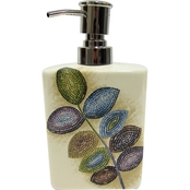 Croscill Mosaic Leaves Lotion Dispenser