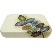 Croscill Mosaic Leaves Soap Dish