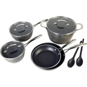 Cooking Light Inspire Forged Aluminum Nonstick Cookware 10 pc. Set