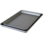 Cooking Light Nonstick Cookie Sheet Bakeware Set 2pk