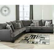Signature Design by Ashley Millingar 3 pc. Sectional Sofa/Loveseat/Wedge