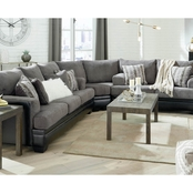Signature Design by Ashley Millingar 3 pc. Sleeper Sectional Sofa/Loveseat/Wedge