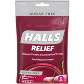 Halls Sugar Free Cough Suppressant