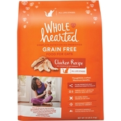 WholeHearted Grain Free All Life Stages Chicken Formula Dry Cat Food