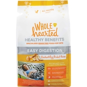 WholeHearted Healthy Benefits Easy Digestion Dry Cat Food