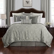 Waterford Celine Dove Grey Comforter Set