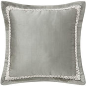 Waterford Celine Dove Grey Decorative Pillow