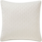 Waterford Celine Dove Grey 18 x 18 in. Square Decorative Pillow