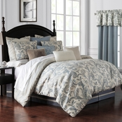 Waterford Florence Chambray Blue Comforter Set