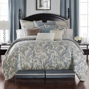 Waterford Florence Chambray Blue Duvet Set