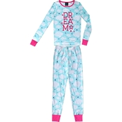 JelliFish Kids Girls 2 pc. Love Pajama Set