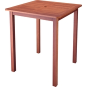 CorLiving Miramar Hardwood Outdoor Bar Height Table