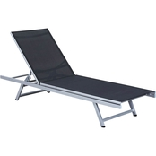 CorLiving Gallant Weather Resistant Mesh Reclining Patio Lounger
