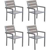 CorLiving Gallant Outdoor Dining Chair 4 pk.