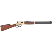 Henry Lever Action 44 Mag 20 in. Barrel 10 Rnd Rifle Brass