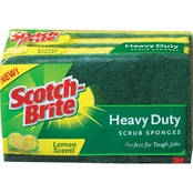 Scotch-Brite Heavy Duty Scrub Sponge 3 pk.