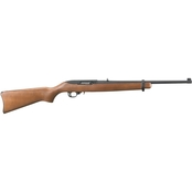 Ruger 10-22 Carb 22 LR 18.5 in. Barrel 10 Rnd Rifle Black with Wood Stock
