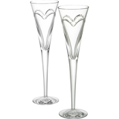 Waterford Wishes Love & Romance 2 pc. Flute Set