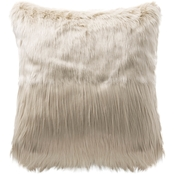 Highline Bedding Co. Madrid 18 x 18 in. Fur Decorative Pillow