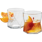 Libbey Glass 4-pc. Rhombus Double Old Fashion Set