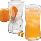 Libbey Glass 4-pc. Rhombus Cooler Set