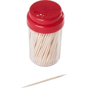 Farberware Wood Toothpicks with Holder