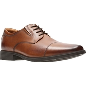 Clarks Tilden Lace Captoe Shoes