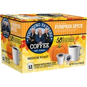 Founding Fathers Pumpkin Spice Coffee K-Cup 12 Pk.