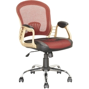 CorLiving Black Leatherette Office Chair