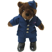 Bear Forces of America 11 in. Male Bear in Air Force Enlisted Service Dress Uniform