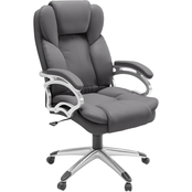 CorLiving Leatherette Executive Office Chair