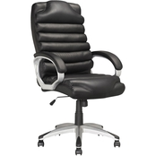 CorLiving Executive Office Chair in Black Leatherette