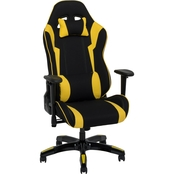 CorLiving High Back Ergonomic Gaming Chair with Height Adjustable Arms
