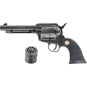 Chiappa Firearms SAA 22-10 22 LR 22 WMR 5.5 in. Barrel 10 Rds Revolver Black