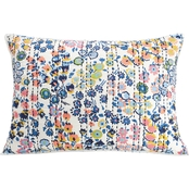 Vera Bradley Petite Floral Quilted Pillow Sham
