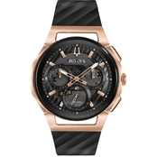 Bulova Men's Curv Chronograph Watch 98A185