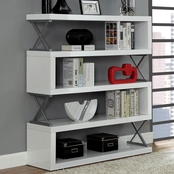 Furniture of America Niamh 5 Shelf Bookcase