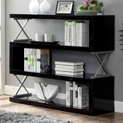 Furniture of America Niamh 4 Shelf Bookcase