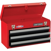 Craftsman 20.5 in. 3 Drawer Metal Toolbox