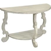 Coast to Coast Accents Orchard Park Demilune Console Table