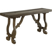 Coast to Coast Accents Orchard Park Folding Console Table