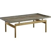 Coast to Coast Accents Biscayne Weathered Cocktail Table