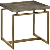 Coast to Coast Accents Biscayne Weathered End Table