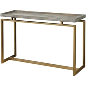 Coast to Coast Accents Biscayne Weathered Console Table