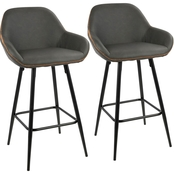 LumiSource Clubhouse Counter Stool 2 pk.