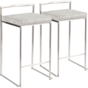 LumiSource Fuji Counter Stool